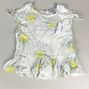 Nwt children's place daisy flower top